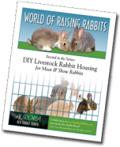 DIY Livestock Rabbit Housing EBook by Raising-Rabbits.com
