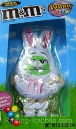 M&M's milk chocolate Easter rabbit