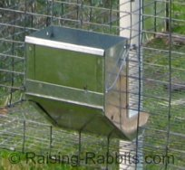 Aurora Rex Rabbit Ranch uses these j-feeders for their rabbits
