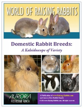 Domestic Rabbit Breeds: A Kaleidoscope of Variety, a World of Raising Rabbits e-book from Raising-Rabbits.com