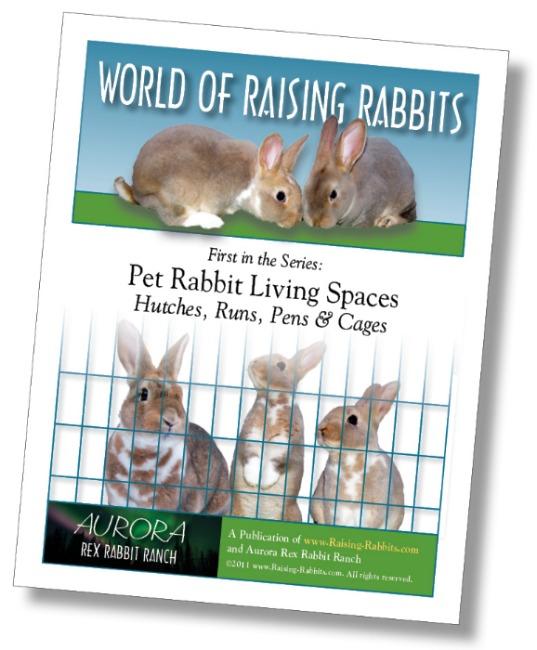 Pet Rabbit Living Spaces, by Raising-Rabbits.com