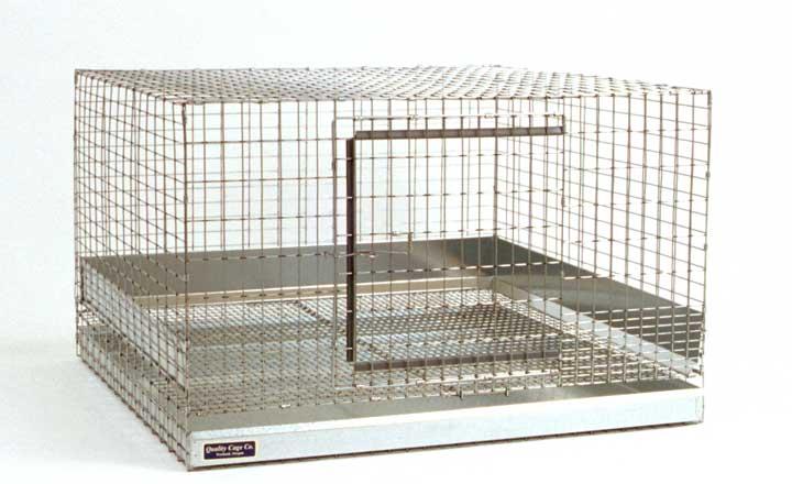 Rabbit cage measuring 30