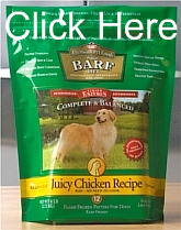 Barfworld packet of Juicy Chicken Recipe