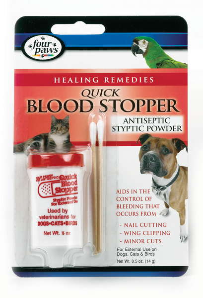Quick Blood Stopper - antiseptic styptic powder
