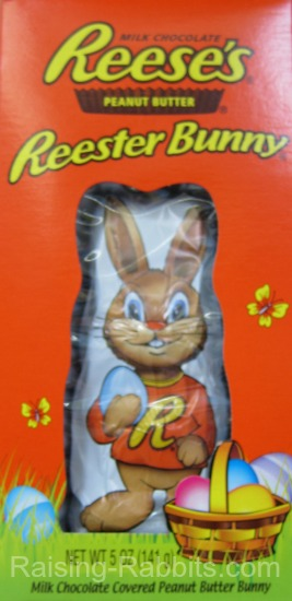 Reese's makes a deelish chocolate peanut butter Easter rabbit candy!