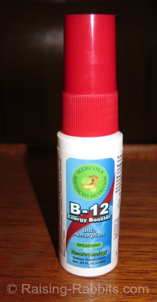 Vitamin B12 Sublingual Spray, an effective method of obtaining B12.