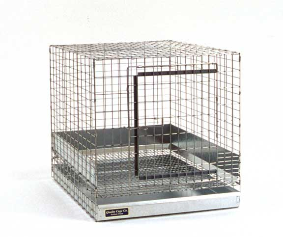 Small rabbit cage measures 18