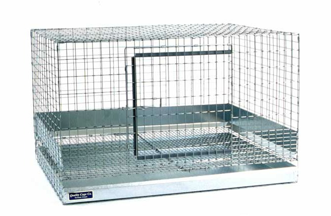 Large rabbit cage measures 30