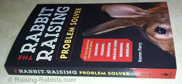 Rabbit Raising Problem Solver Book cover and spine