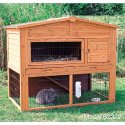 Wooden rabbit cage sold on Amazon.com